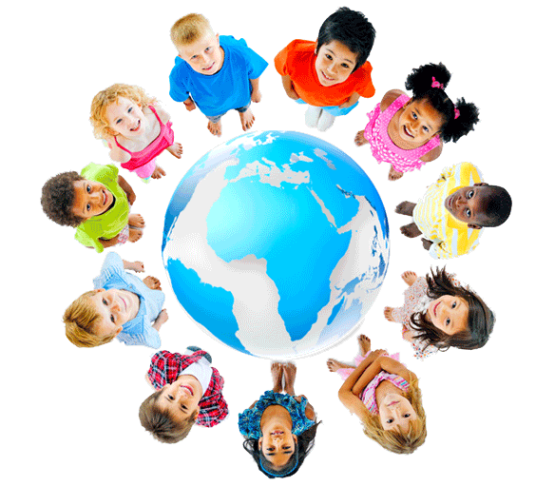 Montessori kids around globe