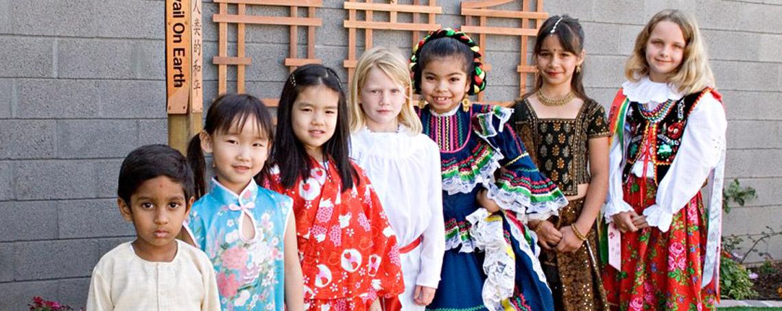 Montessori students