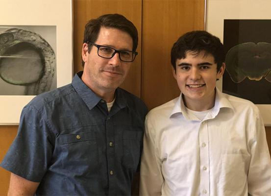 Montessori student inspired by biochemist's visit forms mentorship