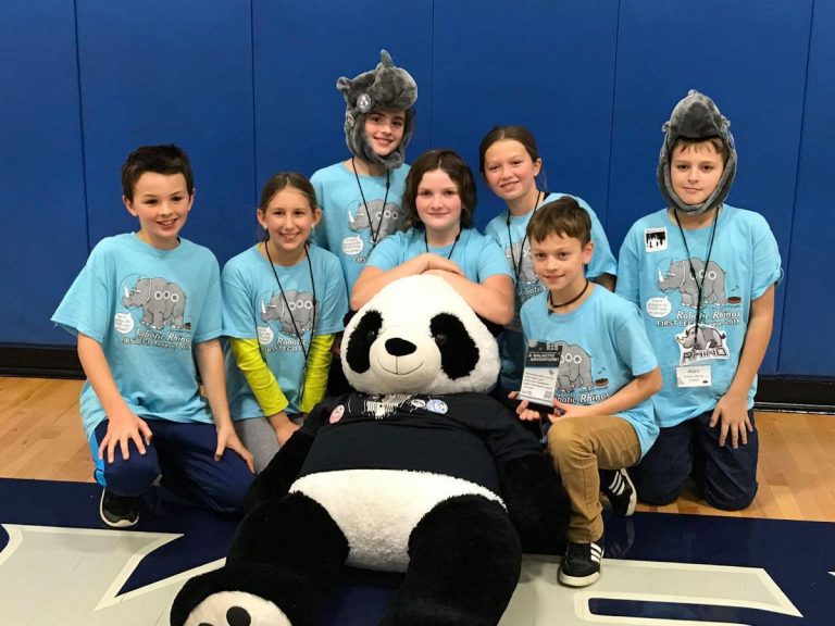 Salem Montessori's Lego robotics team headed to state