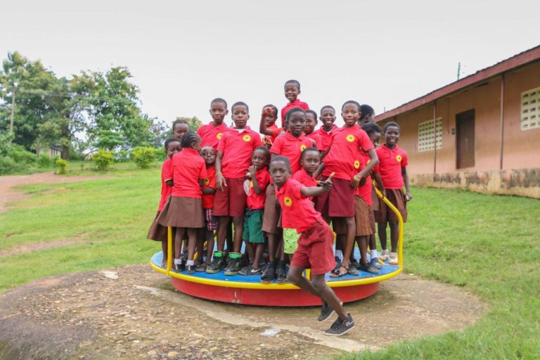 Ammon Montessori school reading marathon raises money for school in Ghana