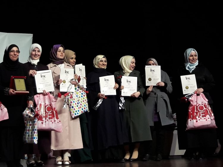 Syrian refugees graduate from CGMS/IMC Early Childhood Program