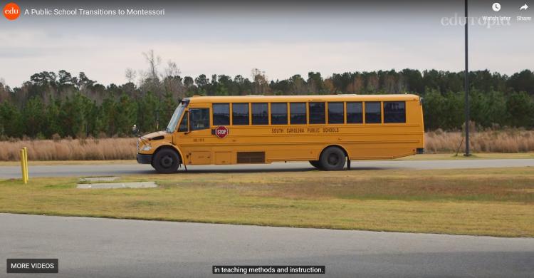 Video: A public school transitions to Montessori