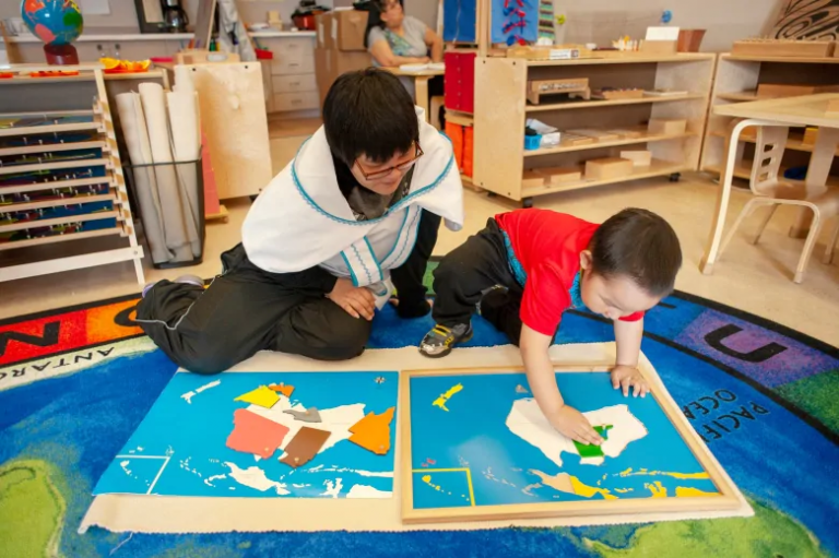 How a Canadian Inuit-Montessori preschool hopes to reinvent education in the North