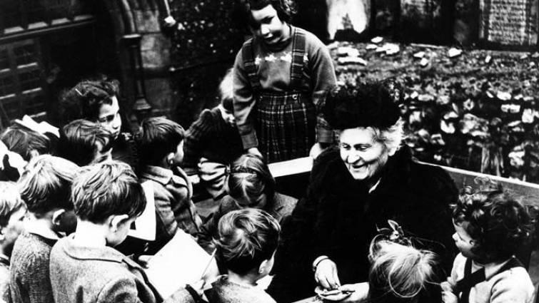 La pedagogía Montessori, más de 100 años educando niños felices