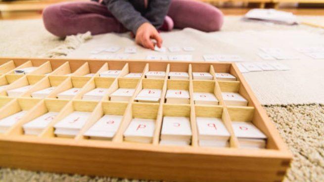 Cómo aprender a leer y escribir con el método Montessori
