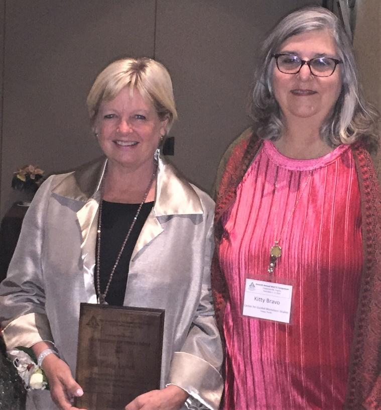 Kathy Leitch and others Honored at the MACTE Syposium