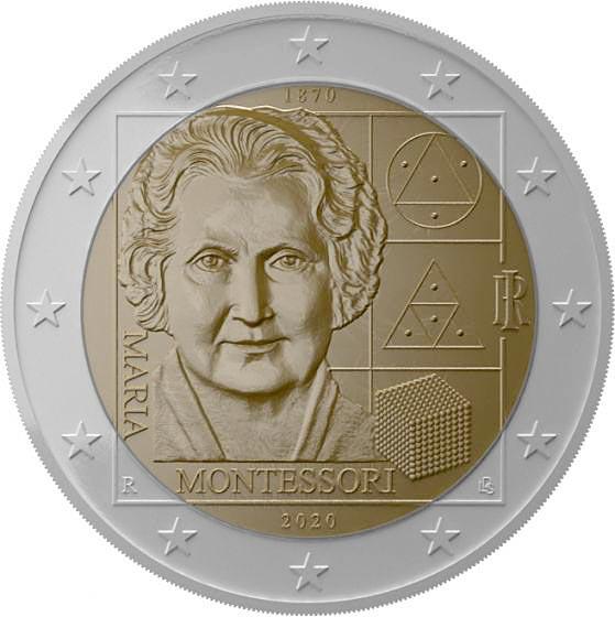 2020 Commemorative coin recognizes 150th birthday of Dr. Montessori